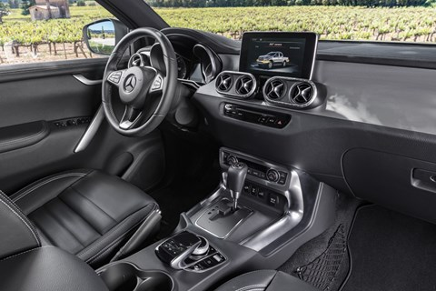 Mercedes X-class pickup truck