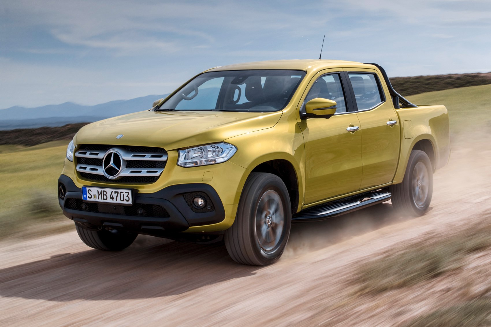 New mercedes benz x class pickup revealed in full by car for Mercedes benz trucks