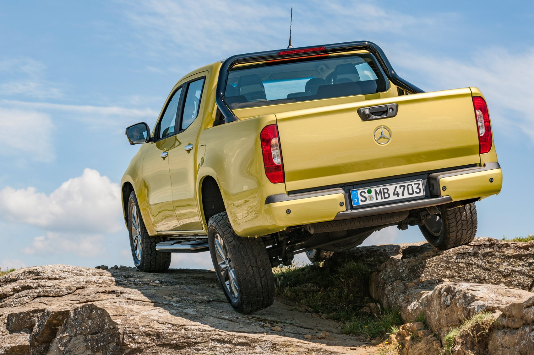 new mercedes-benz x-class pickup revealed in fullcar magazine