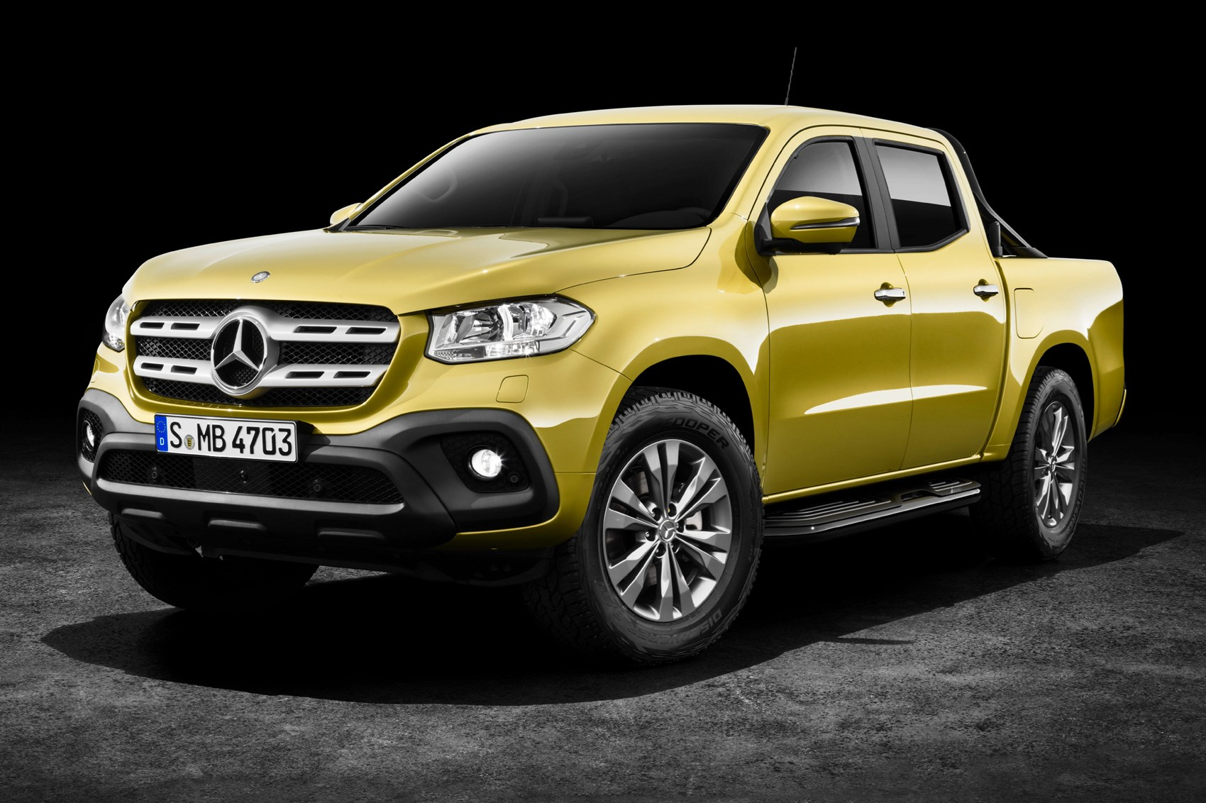 ... A posher pick-up: Mercedes X-class gains V6 power
