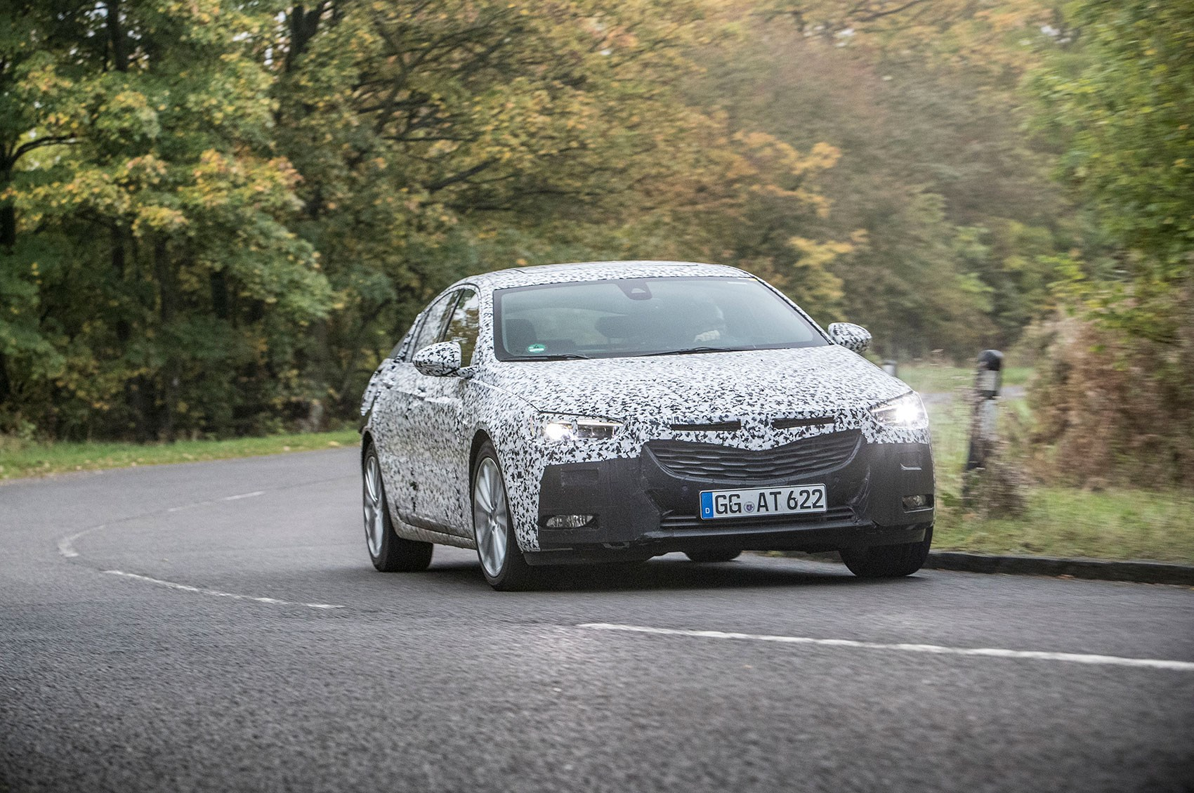vauxhall insignia grand sport 2017 prototype review by car magazine. Black Bedroom Furniture Sets. Home Design Ideas