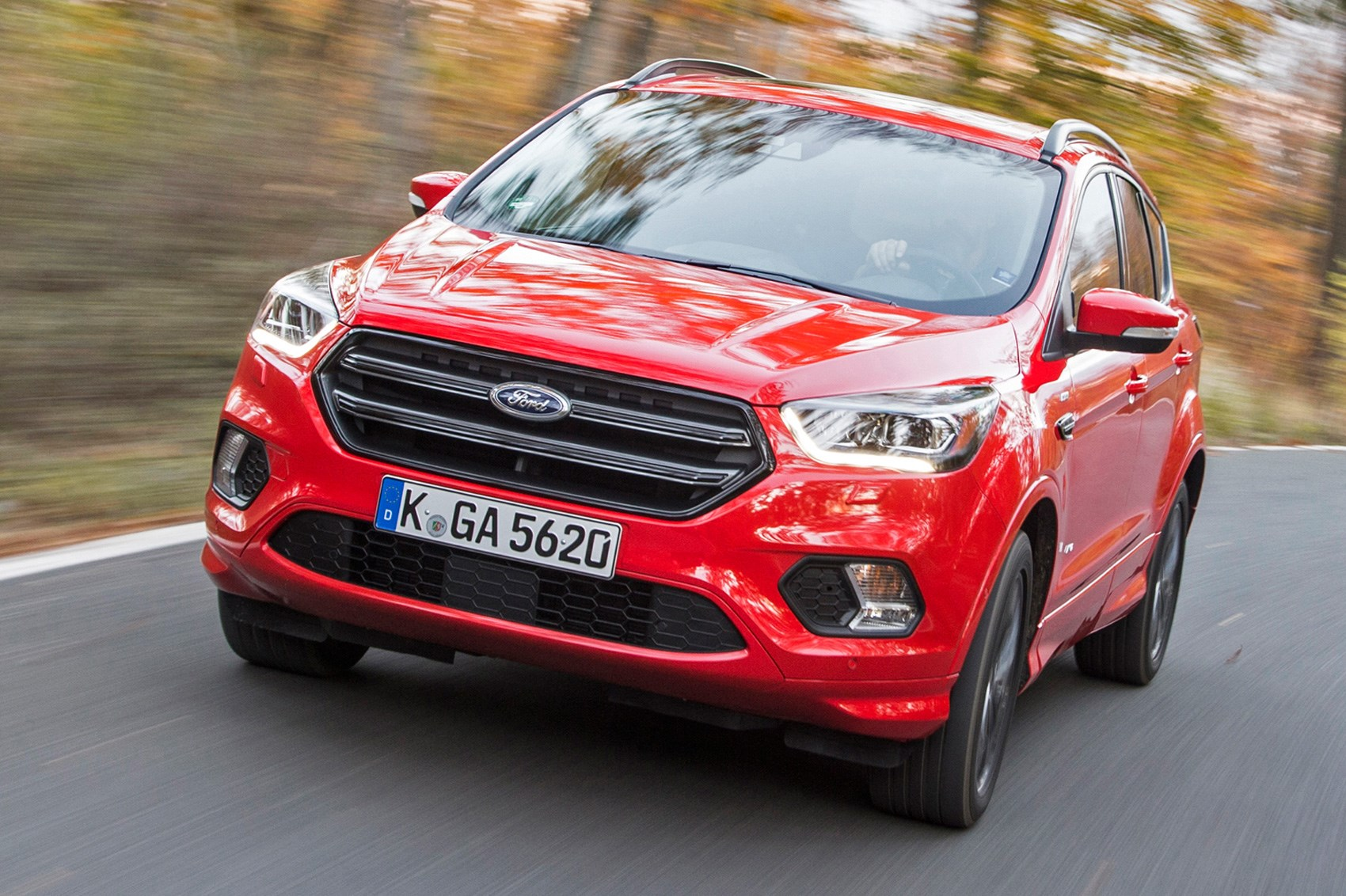 Ford Kuga St Line  T Ecoboost Automatic Awd  Review Car Magazine