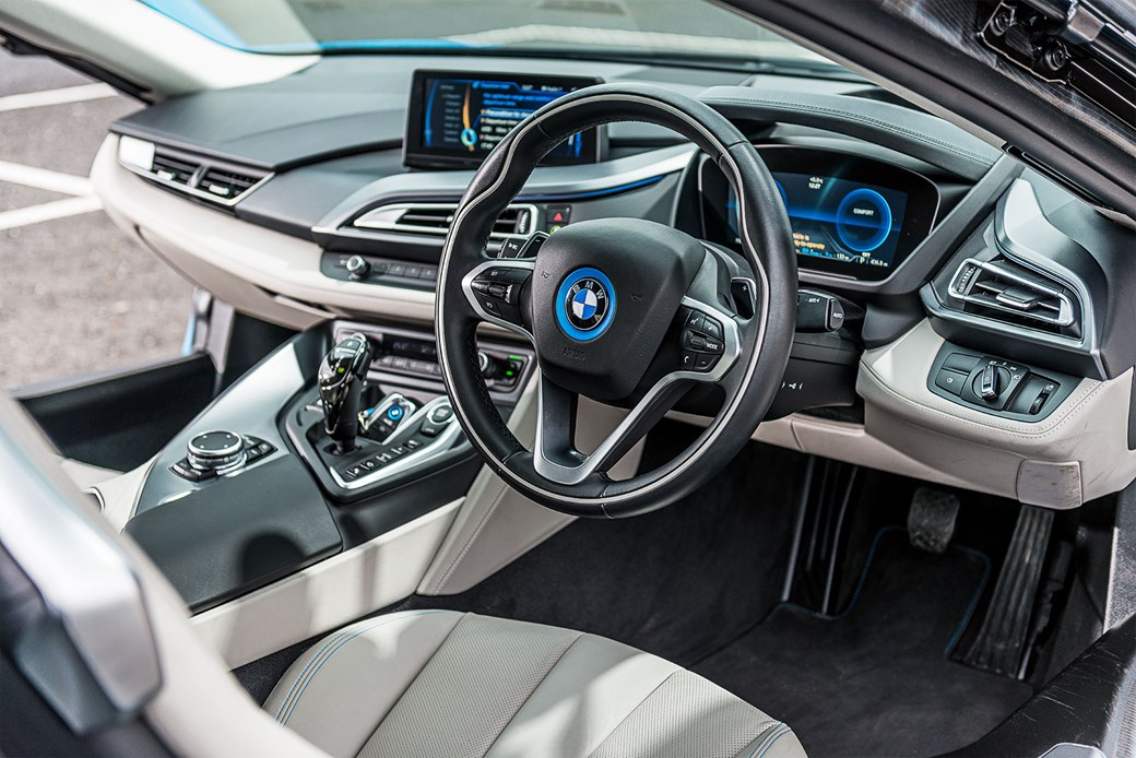 Our Bmw I8 Cabin