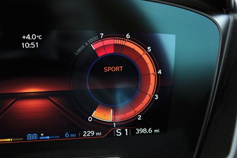 Hold State of Charge mode on BMW i8