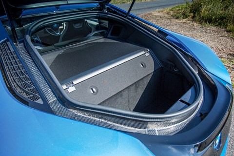 The BMW i8 boot