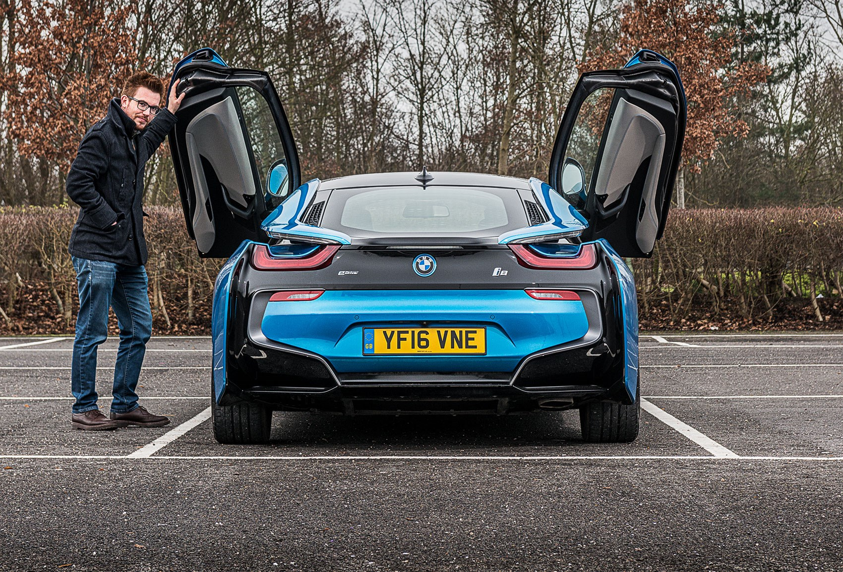 Keeper Lewis Kingston And The Bmw I8