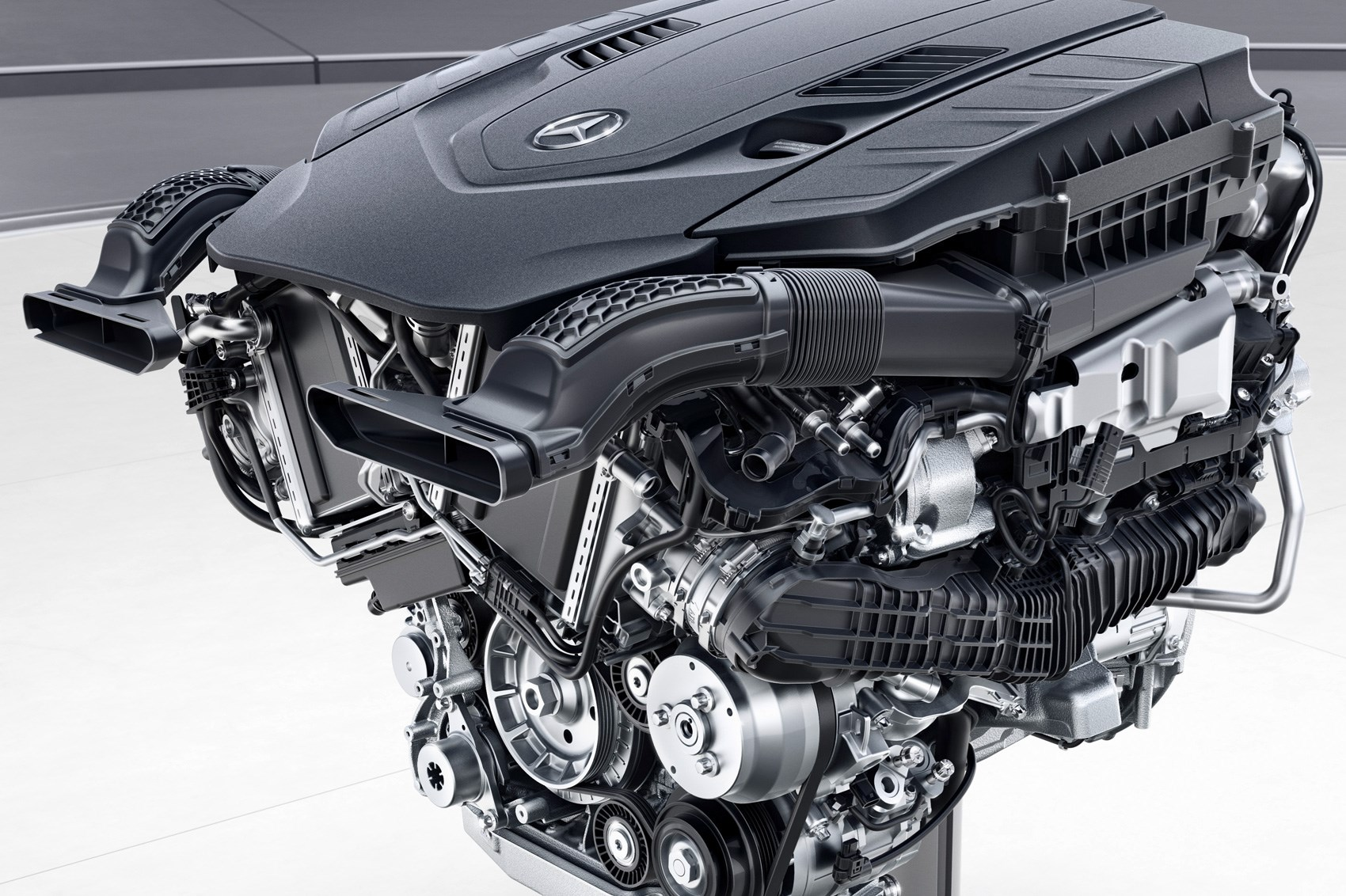 Straight Sixes Are Back Mercedes Benz S New 48 Volt