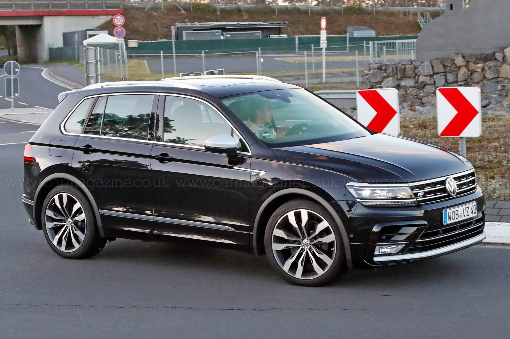 The Best All Rounder Around Vw Tiguan R Spotted Car Magazine