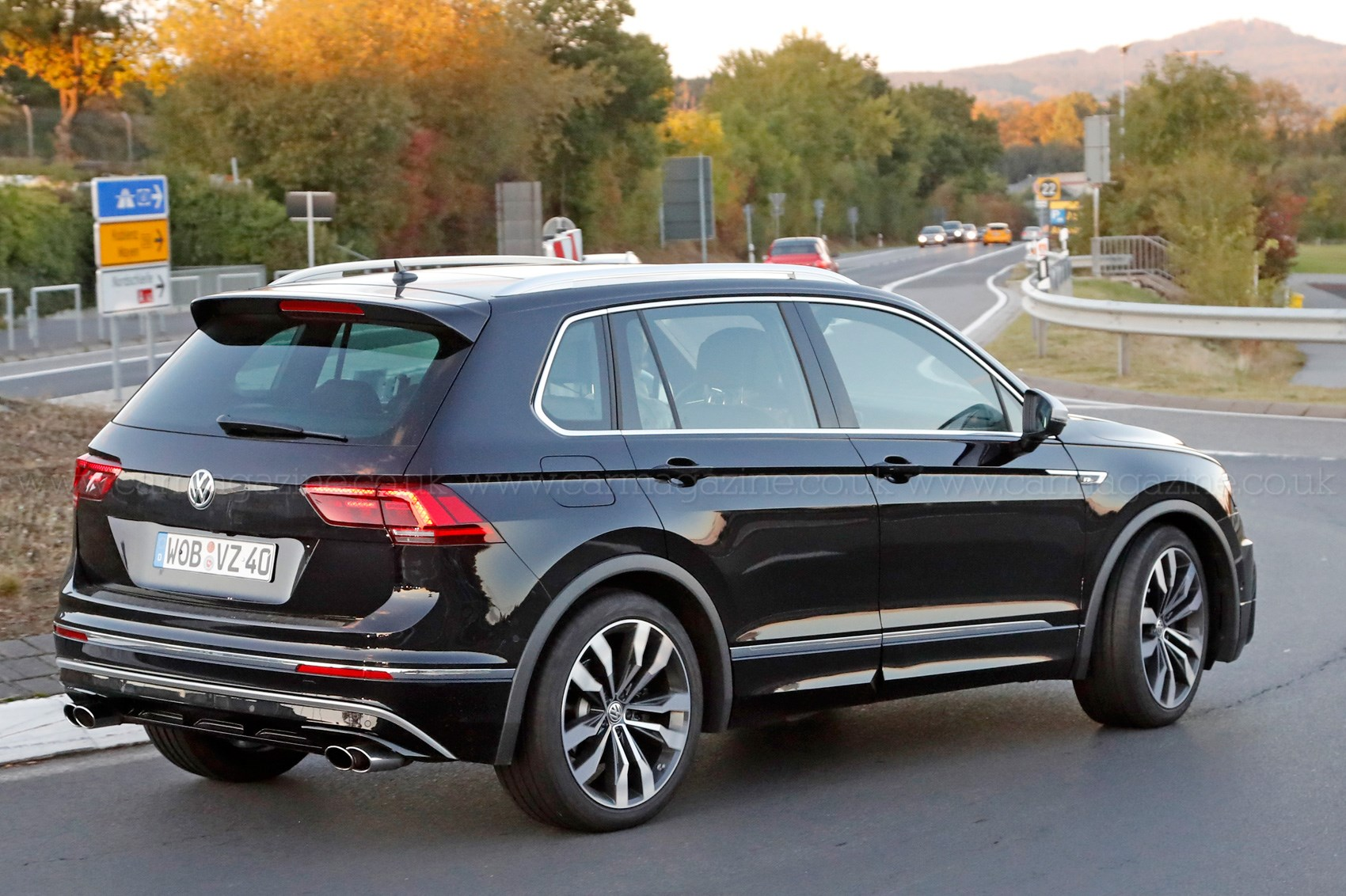 The Best All Rounder Around Vw Tiguan R Spotted Car