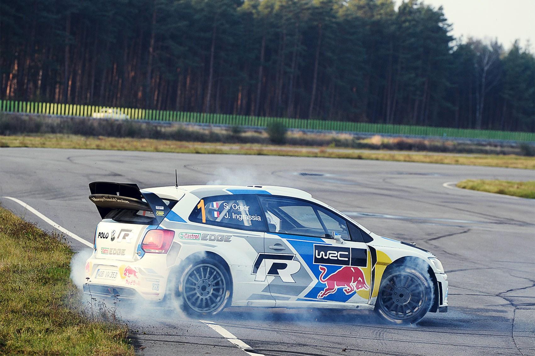 CAR vs the world\'s best rally car: driving the VW Polo WRC | CAR ...