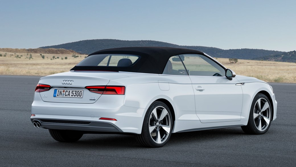 2017 Audi S5 And A5 Cabriolet