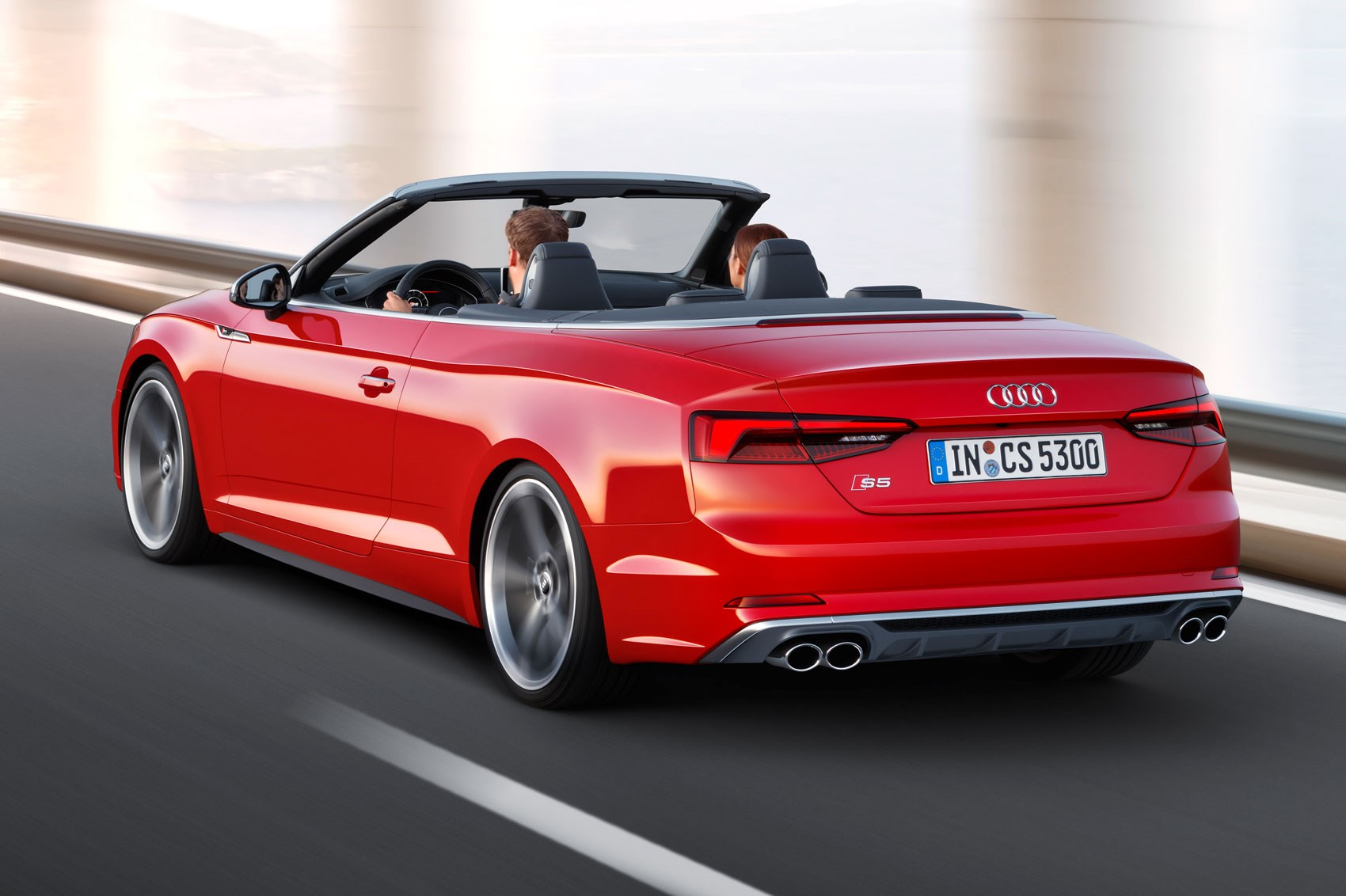 2017 Audi S5 and A5 Cabriolet chop their tops at LA | CAR Magazine