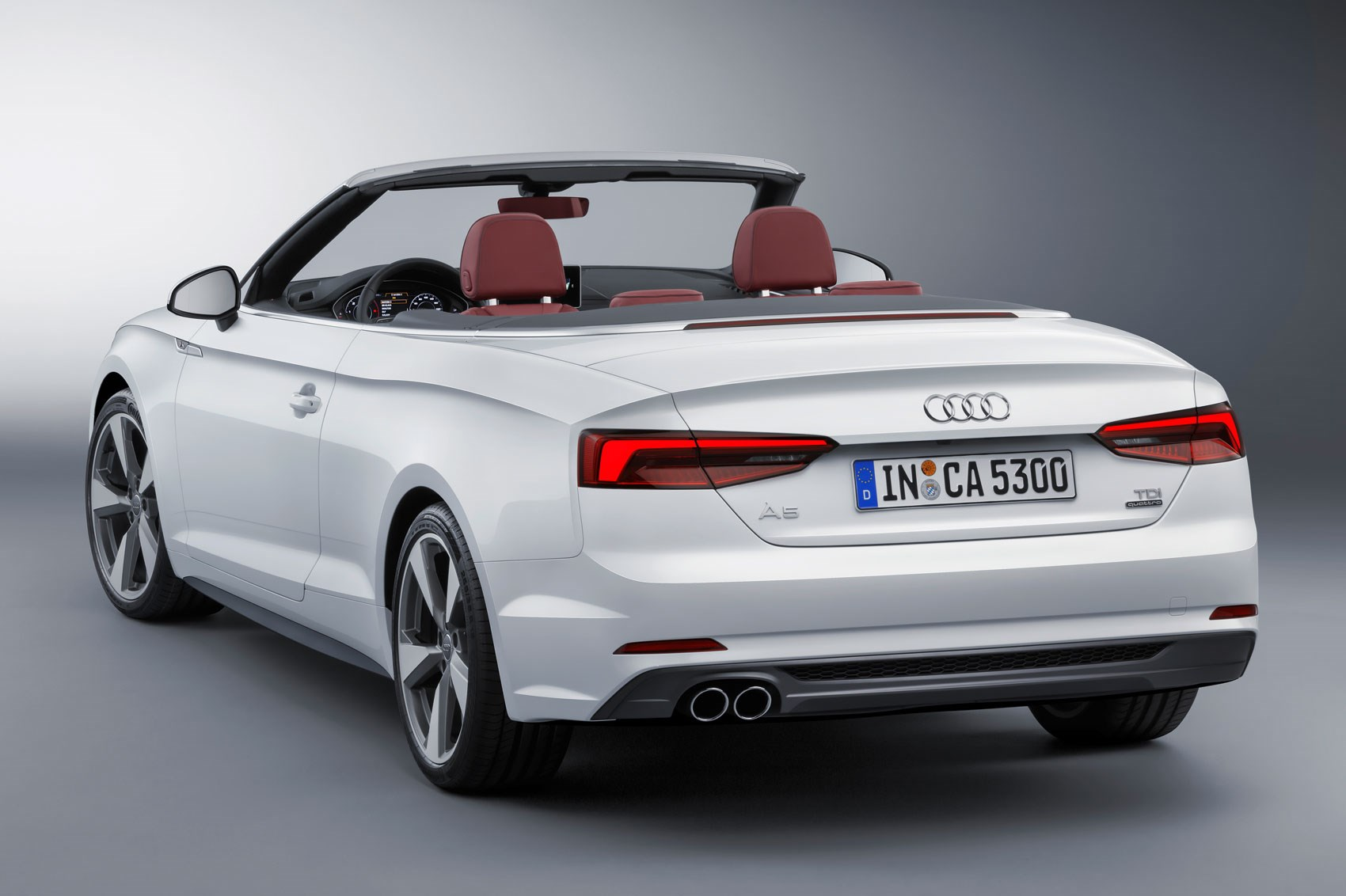 2017 audi s5 and a5 cabriolet chop their tops at la by car. Black Bedroom Furniture Sets. Home Design Ideas