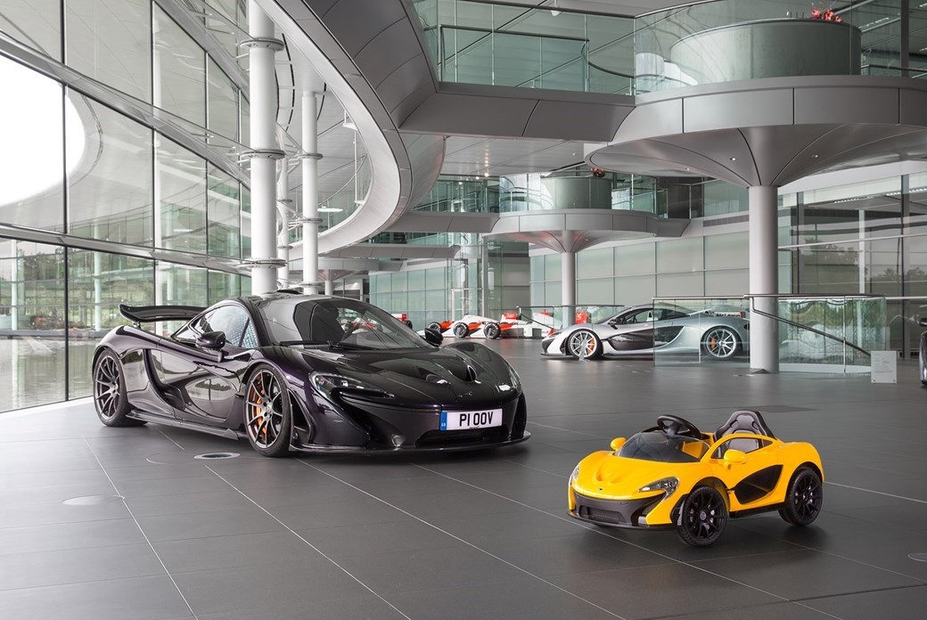 McLaren P1s, little and large