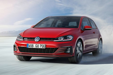 Facelifted 2017 Volkswagen Golf Mk7