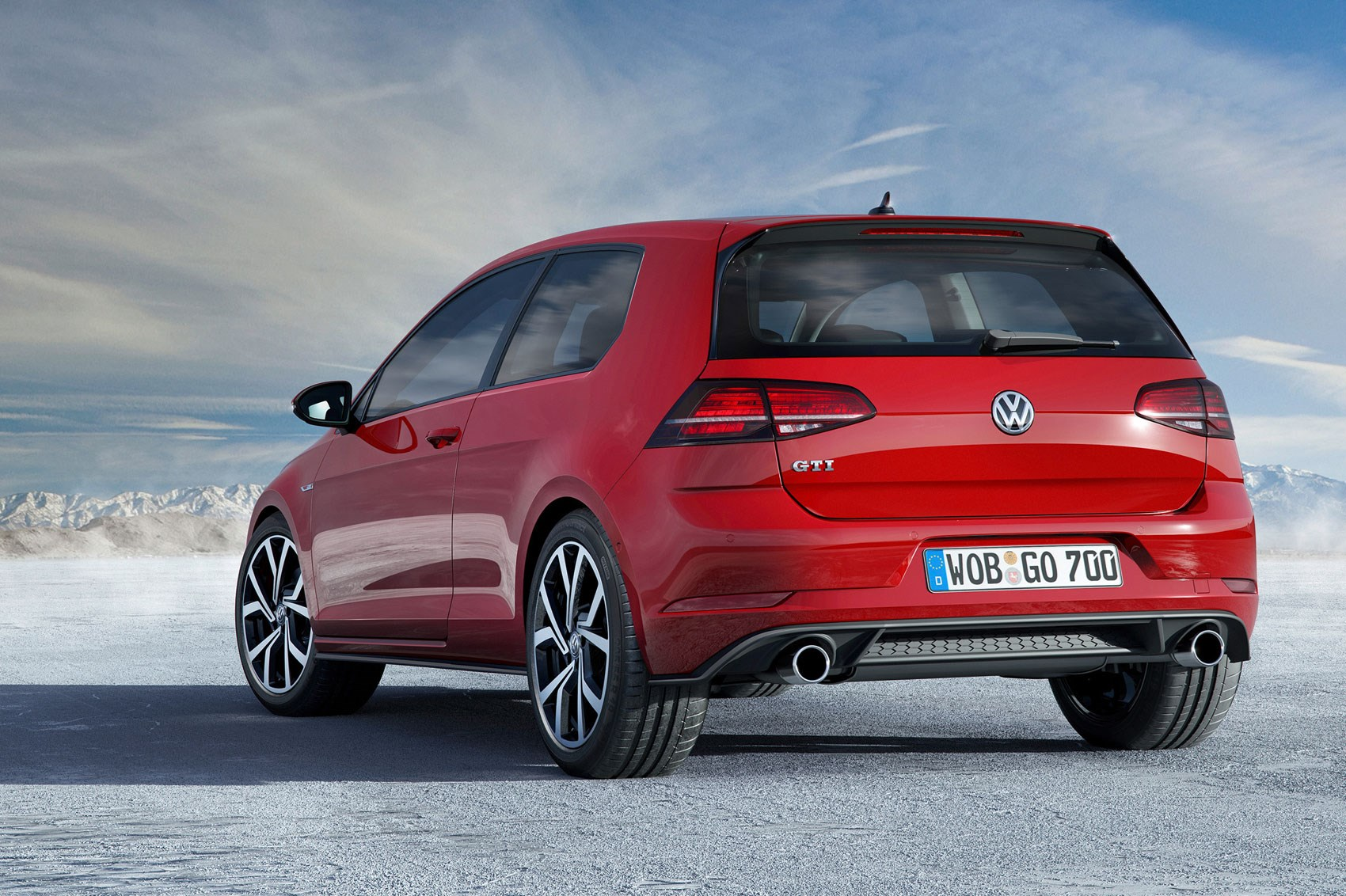... Facelifted 2017 Volkswagen Golf Mk7 ...