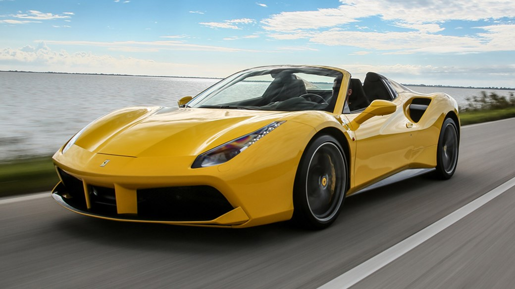 Ferrari 488 Spider 2016 Review