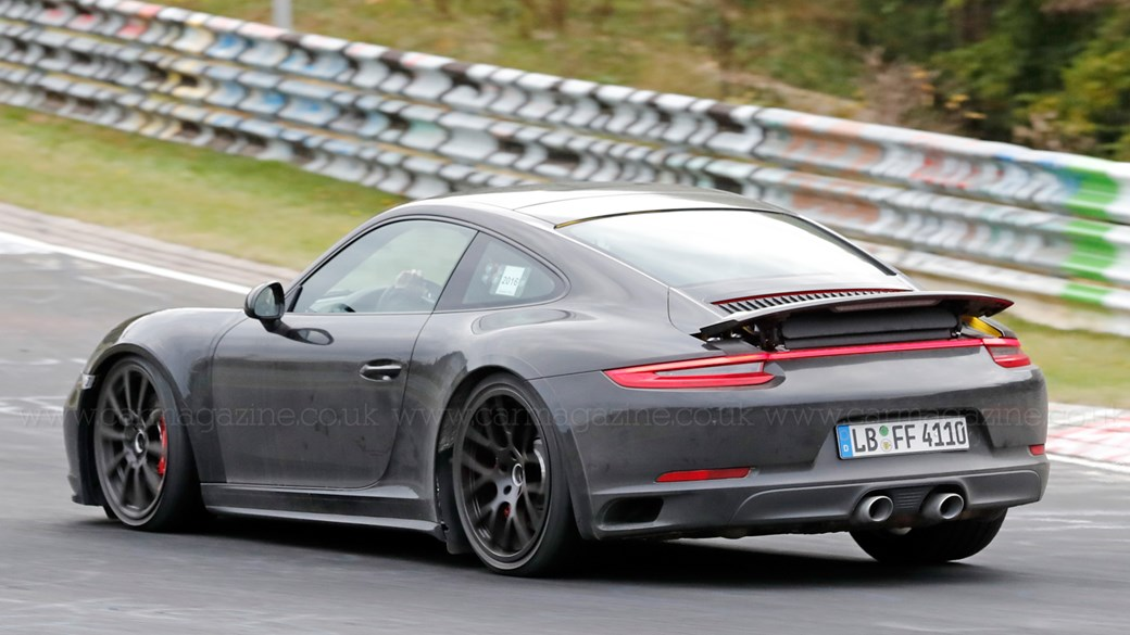 2019 Porsche 911 Turbo S >> Next Porsche 911 Snapped Is This The New 992 Gt3 Car Magazine
