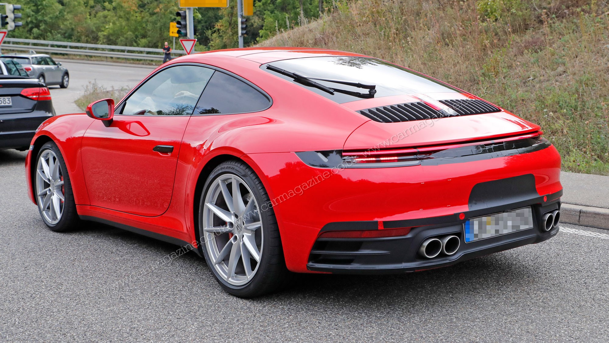 new porsche 911 everything we know about new 992 car magazine. Black Bedroom Furniture Sets. Home Design Ideas