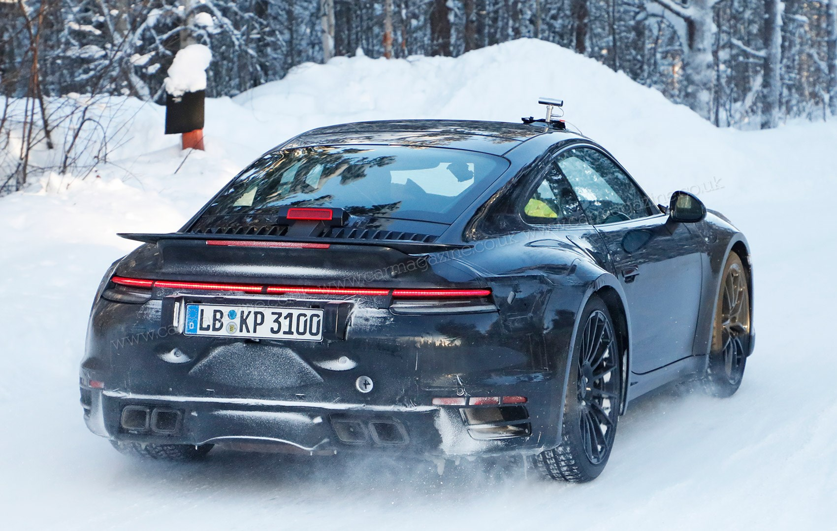 Porsche will show you how strap on is done