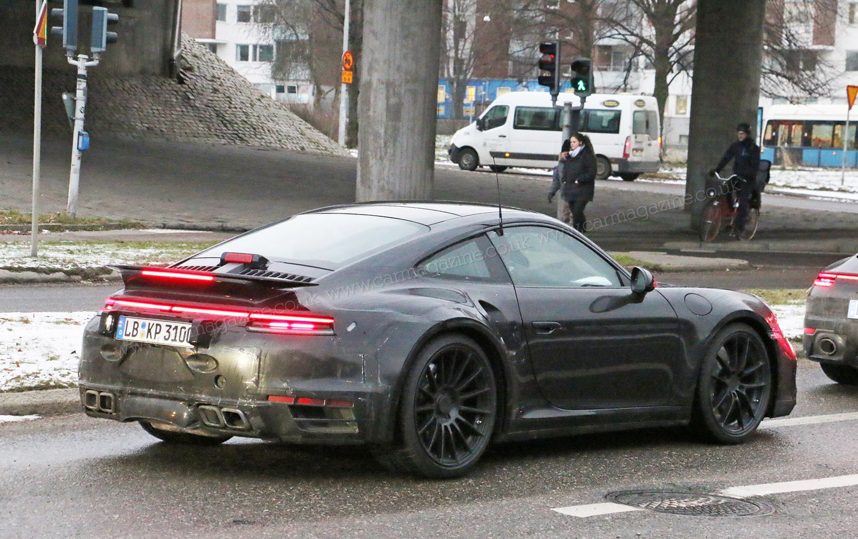 New Porsche 911: fresh pictures of 992 snapped at the ...
