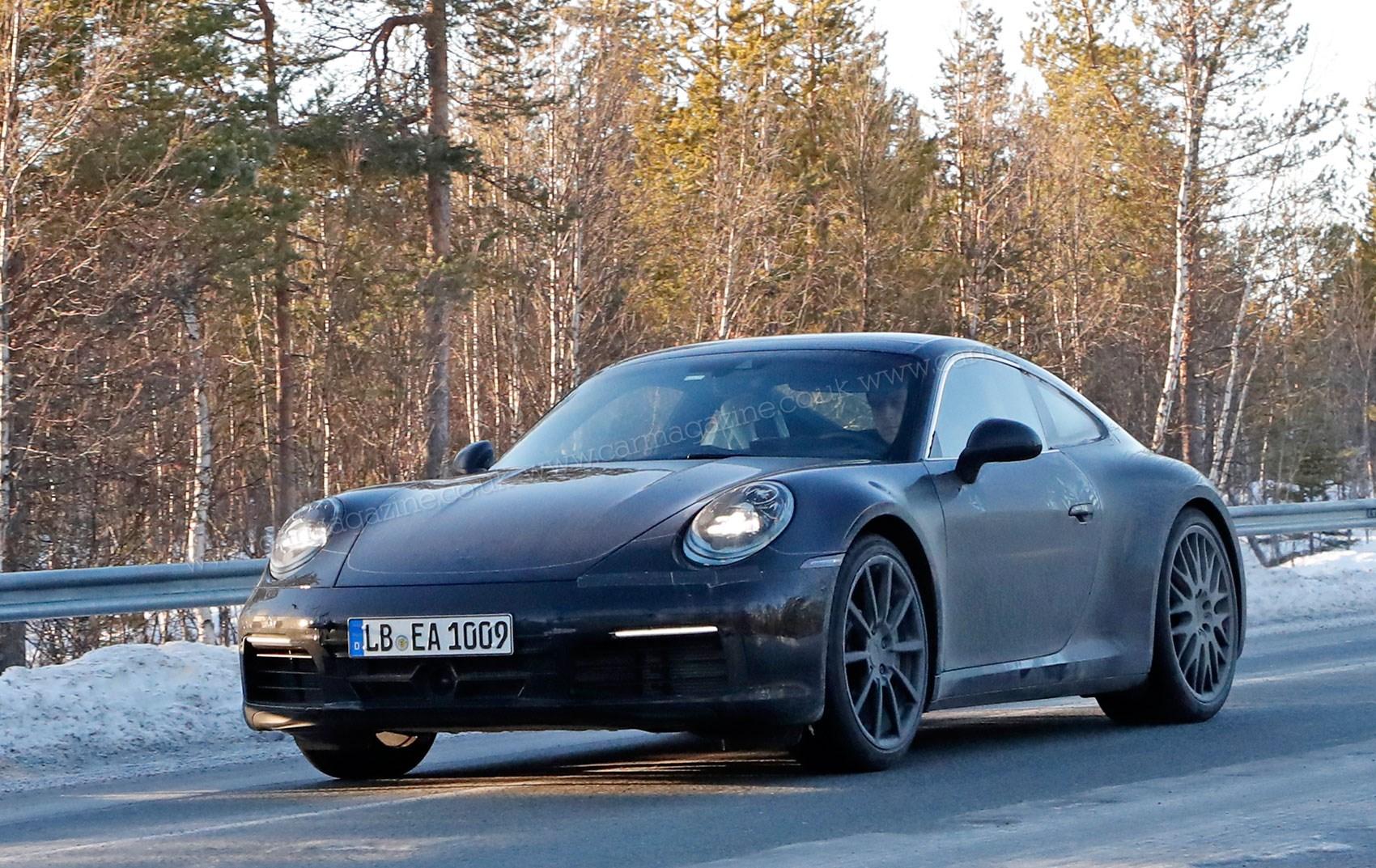 Porsche 911 992 Generation Spy Shots And First Details By Car Magazine