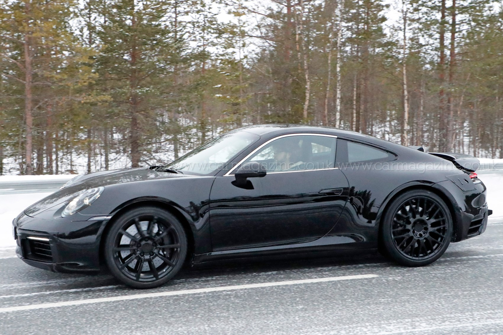 Porsche 911 992 Generation Spy Shots And First Details By Car Magazine