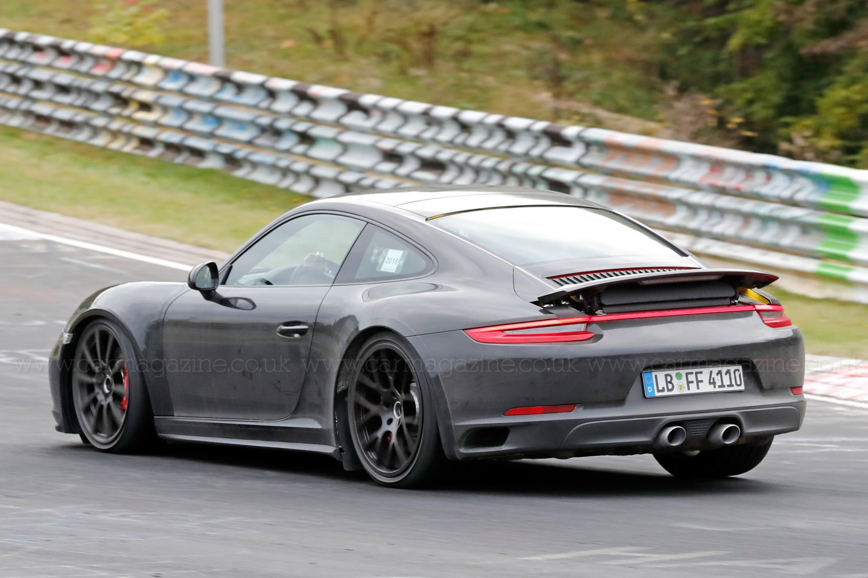 next porsche 911 snapped is this the new 992 gt3 by car. Black Bedroom Furniture Sets. Home Design Ideas