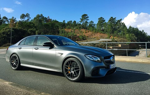 The new Mercedes-AMG E63: like ours, only sharper
