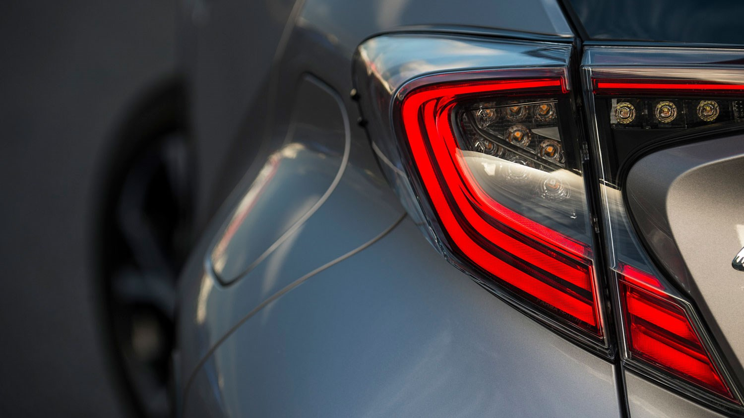 Rear lights, Toyota C-HR
