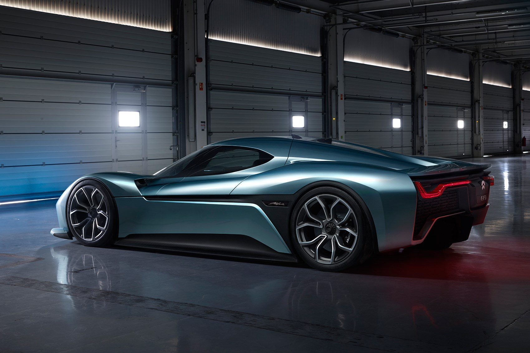 nurburgring lap record broken by nio ep electric supercar