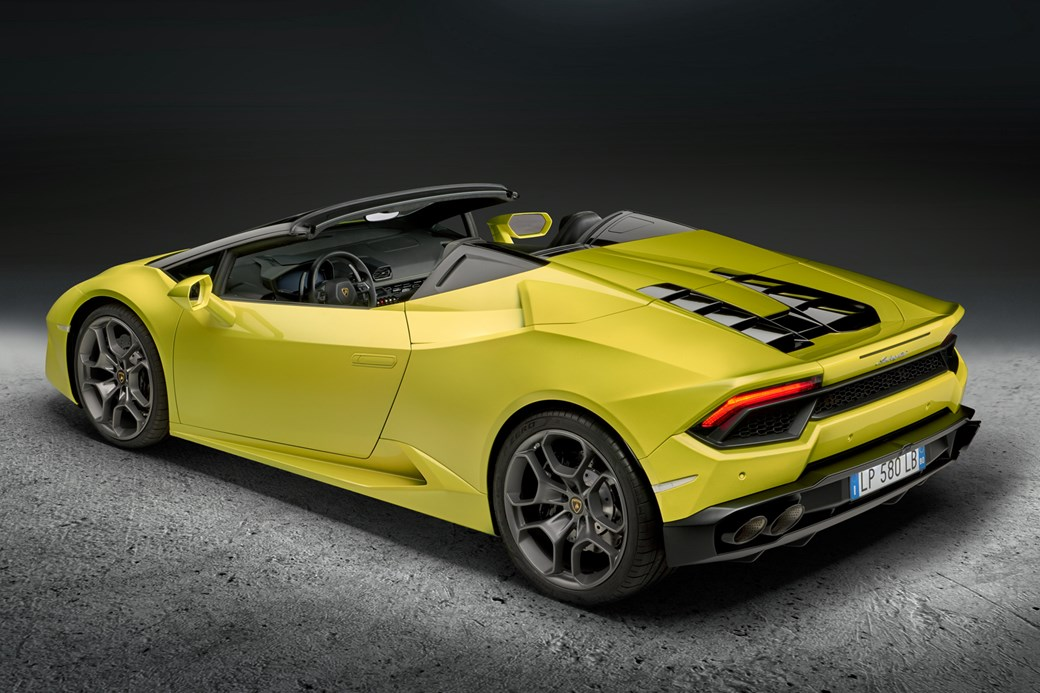 rear wheel drive huracan spyder whats the story