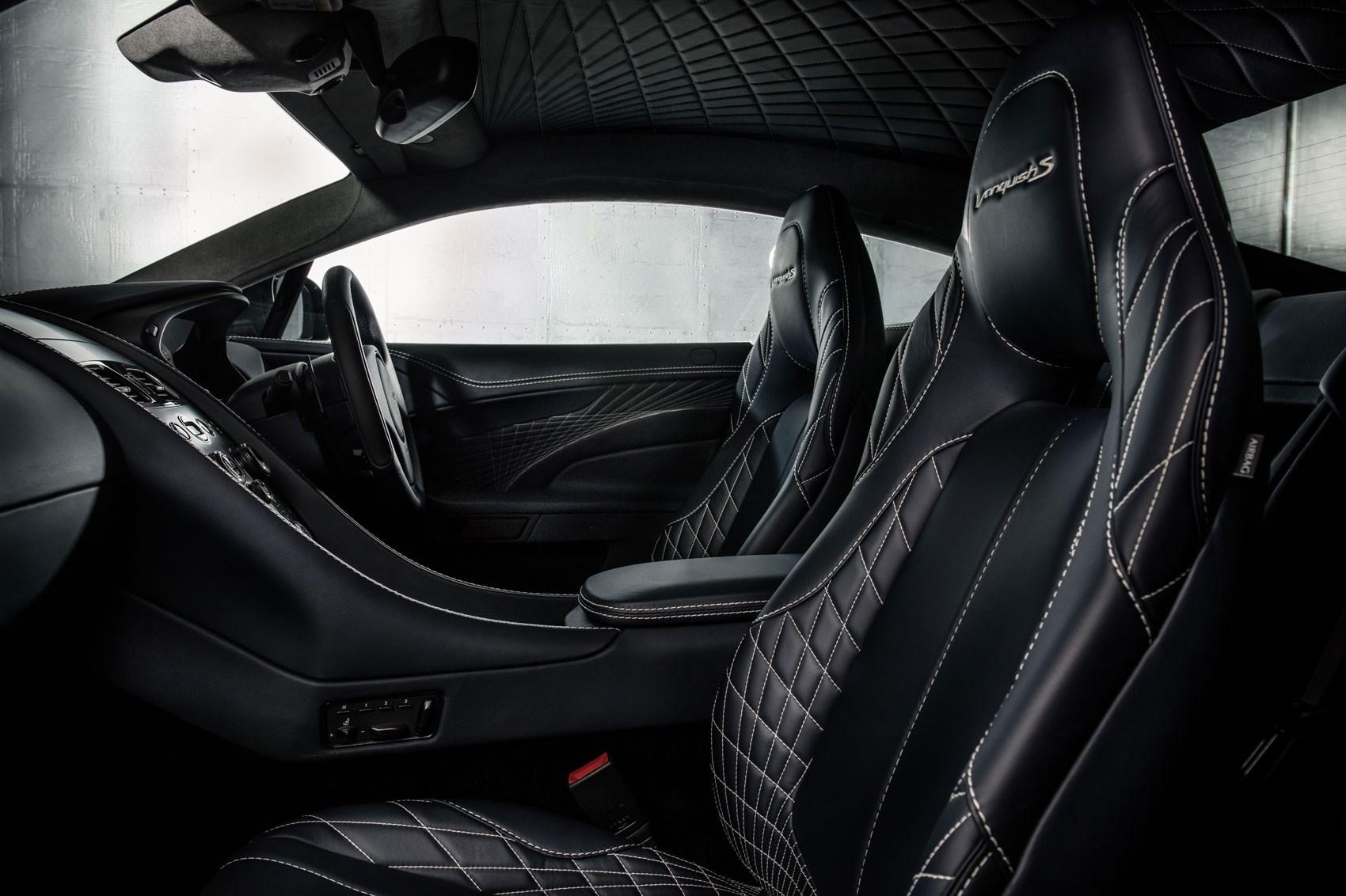 aston martin unveils 595bhp vanquish s | car magazine