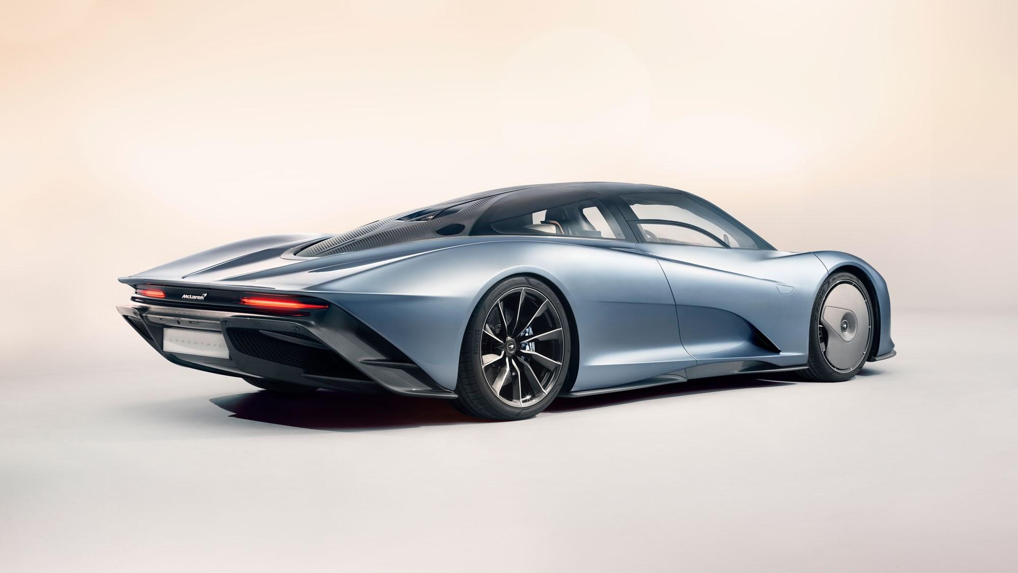 mclaren speedtail: hypercar makes 309bhp from its e-motor alone