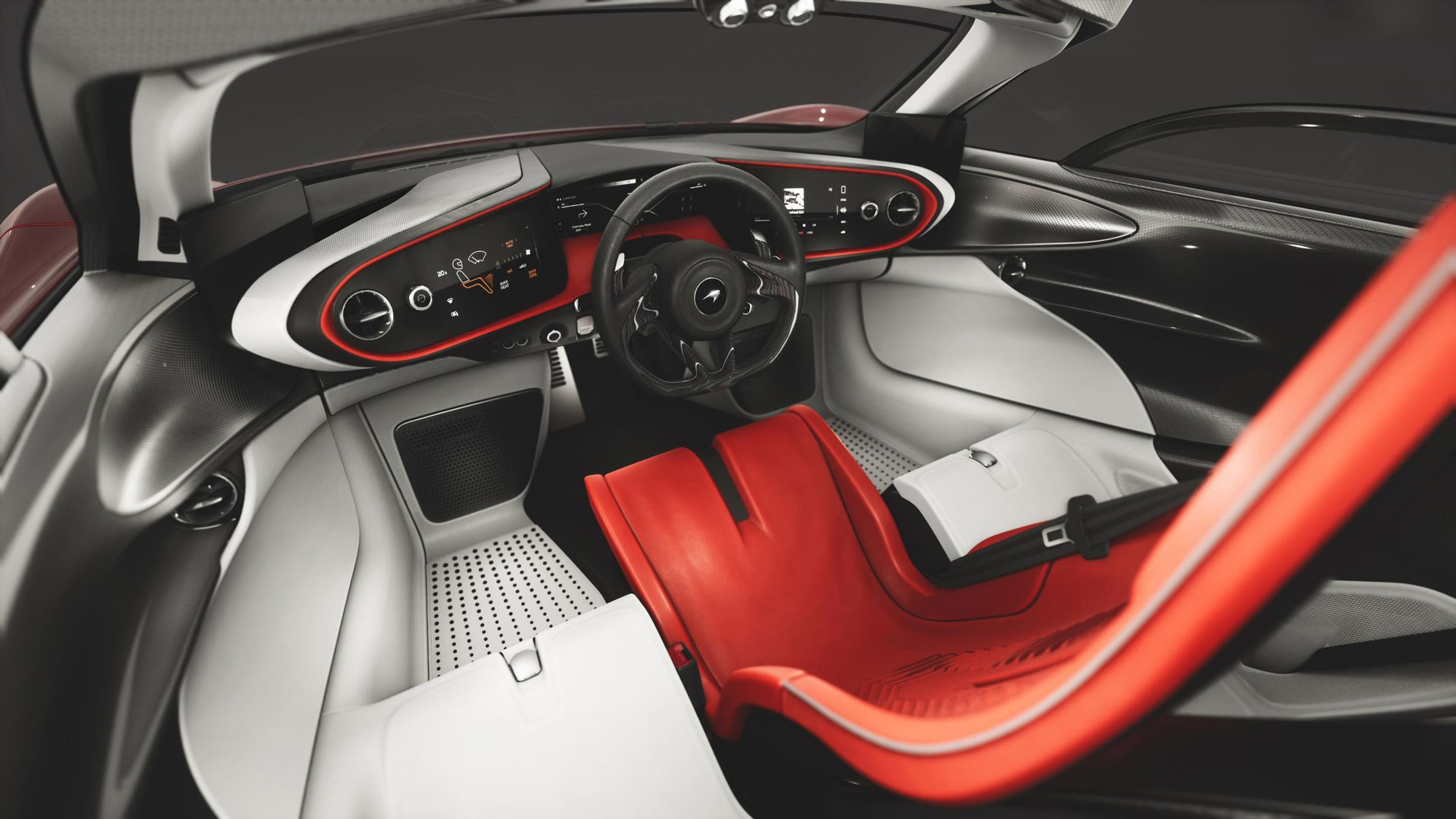 mclaren speedtail hypercar  bhp    motor  car magazine