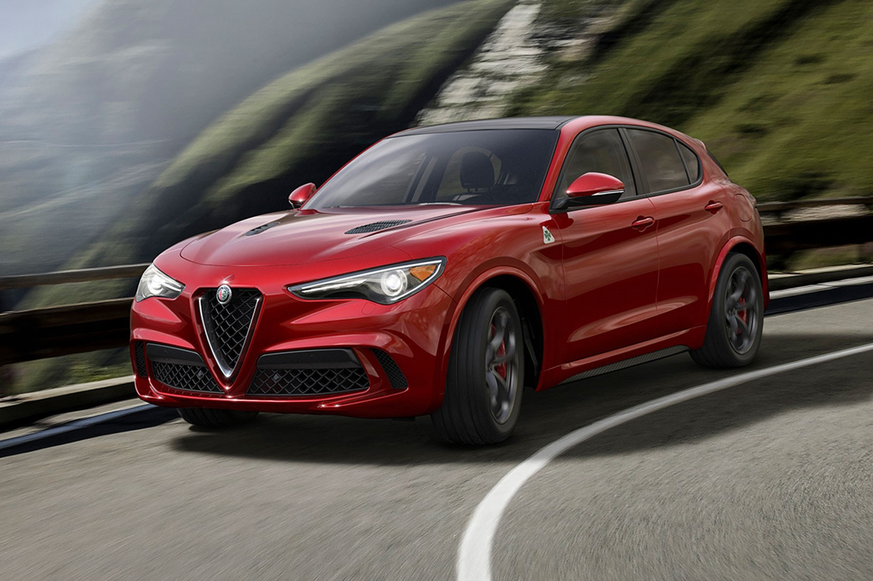 New Alfa Romeo Stelvio Quadrifoglio Suv Revealed Latest News And Rear End 2017