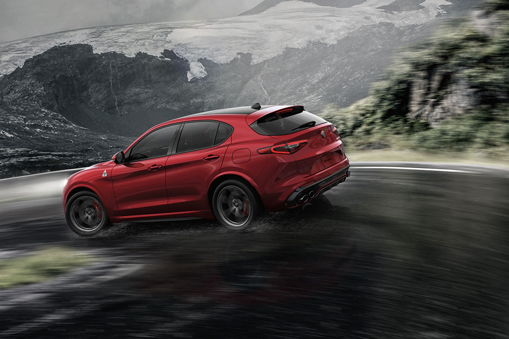 new alfa romeo stelvio quadrifoglio suv revealed latest news and pictures by car magazine. Black Bedroom Furniture Sets. Home Design Ideas