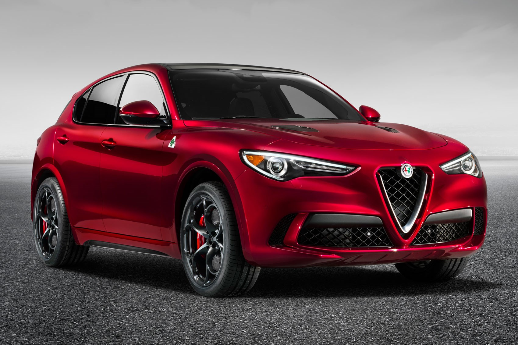 new alfa romeo stelvio quadrifoglio suv revealed latest. Black Bedroom Furniture Sets. Home Design Ideas