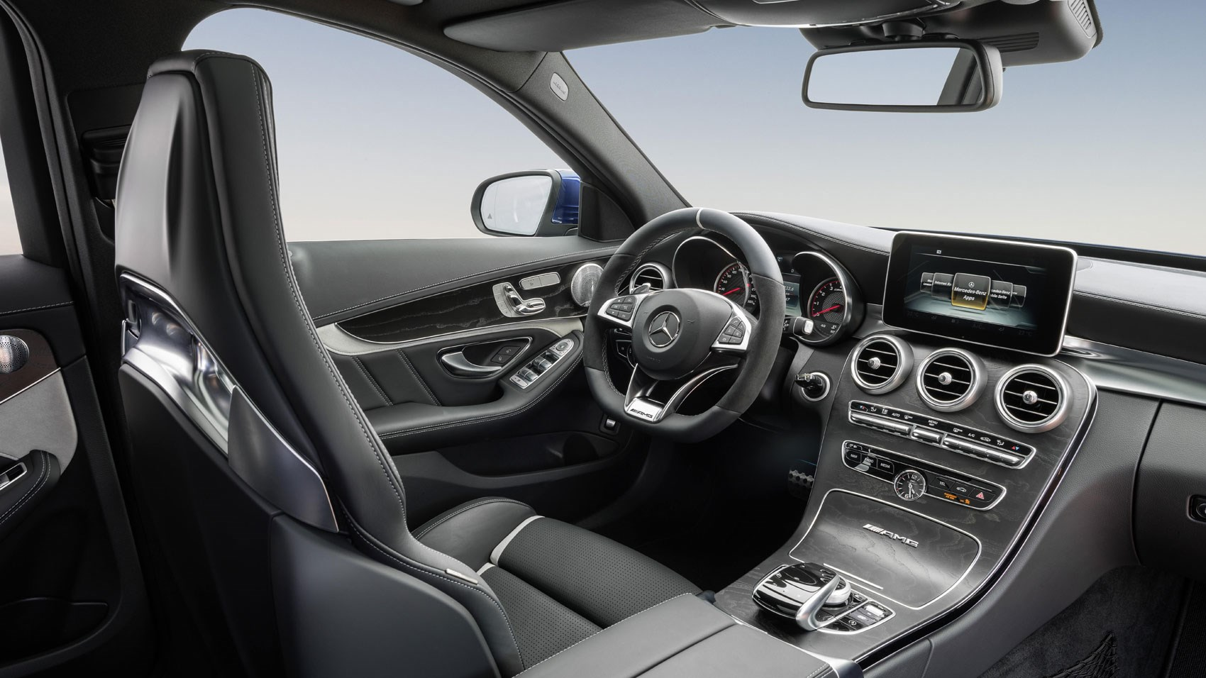 Mercedes amg c63 s estate 2016 review by car magazine 2016 mercedes amg c63 s estate review sciox Gallery