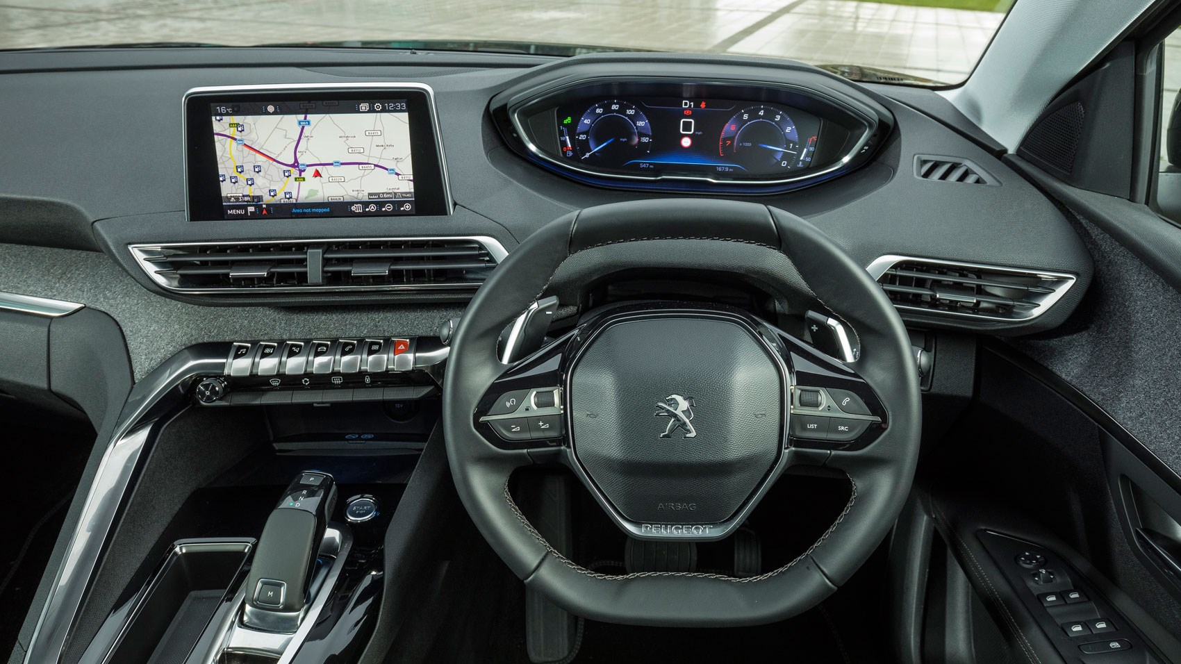Peugeot 3008 16 Thp 165 Eat6 Allure 2017 Review Car Magazine 306 D Turbo Fuse Box Diagram