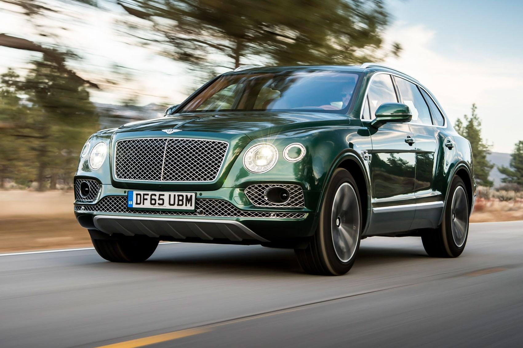 Bentley Bentayga W12 (2016) review by CAR Magazine