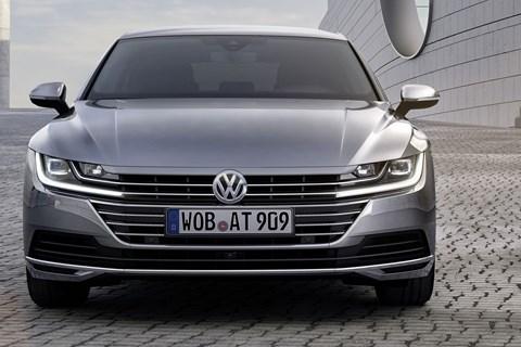 VW Arteon at Geneva 2017