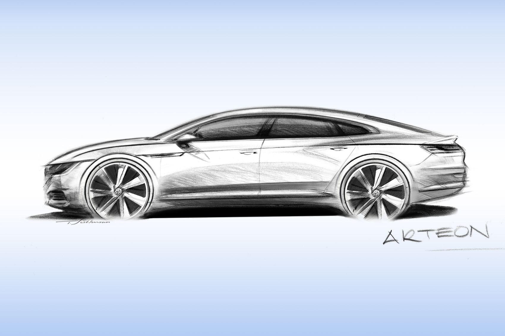 VW Arteon revealed in full: 2017's Passat CC by CAR Magazine