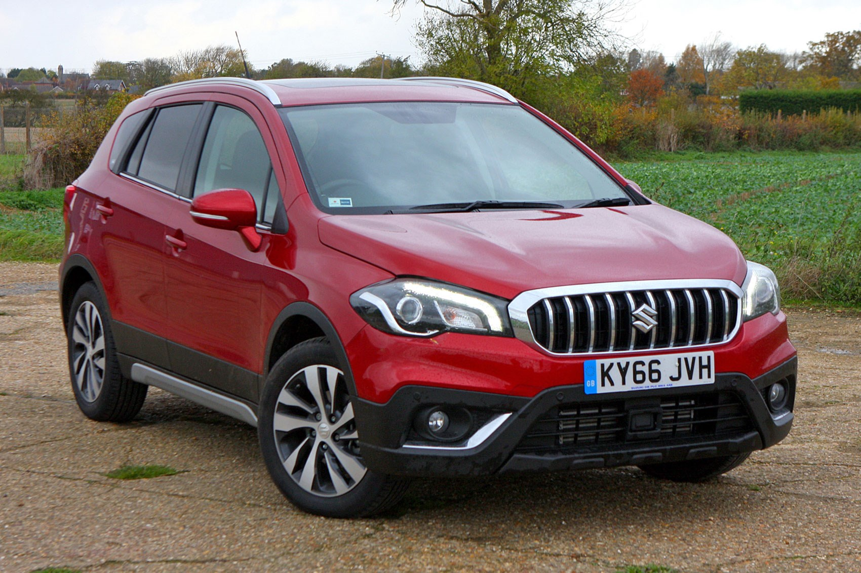 suzuki sx4 s cross 1 4 boosterjet sz5 allgrip 2016 review by car magazine. Black Bedroom Furniture Sets. Home Design Ideas