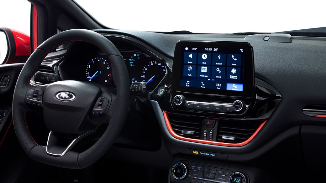 A New Tablet Sprouts From Ford Fiesta Dash