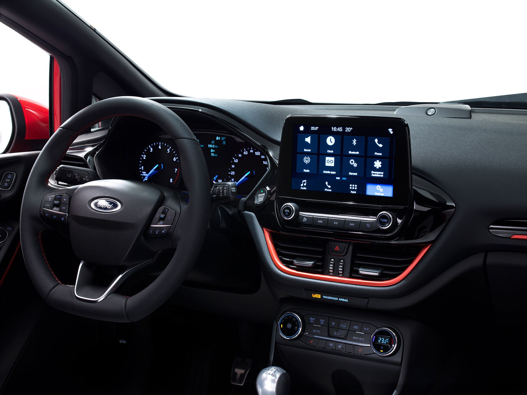 Models A New Tablet Sprouts From Ford Fiesta Dash