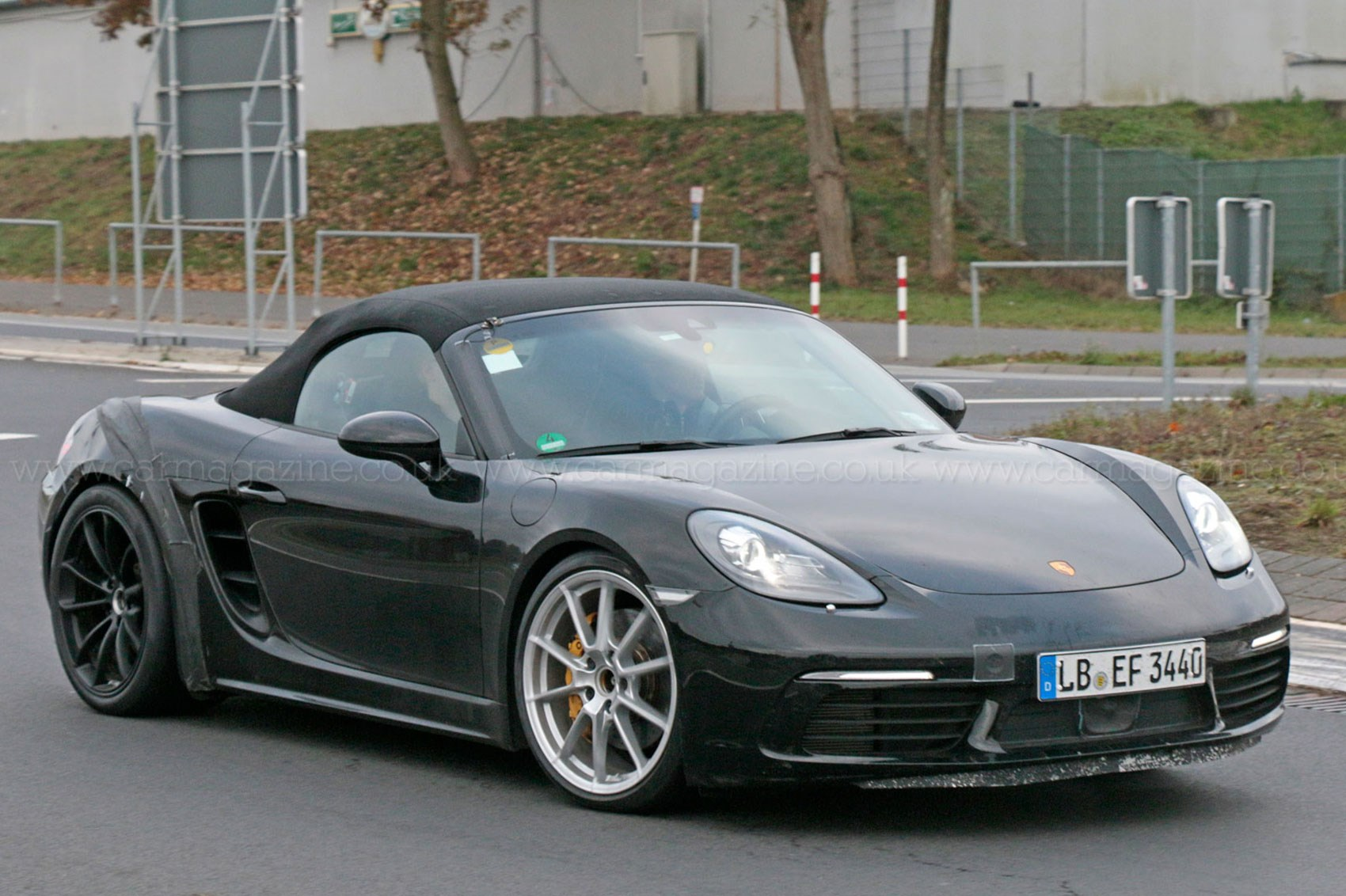 porsche dials in new 718 boxster gts by car magazine. Black Bedroom Furniture Sets. Home Design Ideas