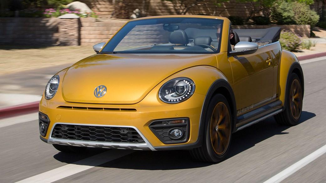 Volkswagen Beetle Dune Cabriolet 1 2 Tsi Dsg 2016 Review