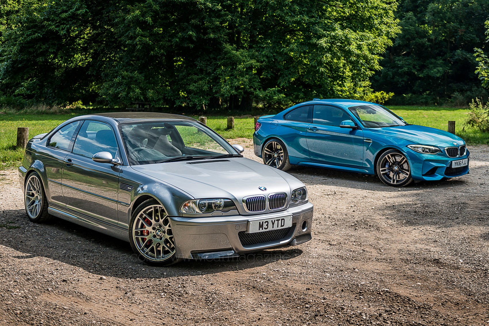 Icon Buyer new BMW M2 vs used E46 M3 CSL by CAR Magazine