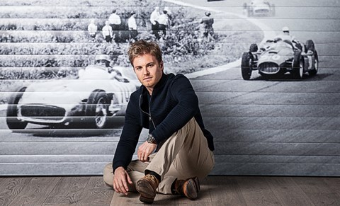 Nico Rosberg, photographed exclusively for CAR by Andrew Shaylor